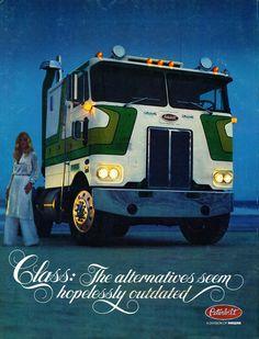Overdrive magazine Semi Trucks, Old Trucks, Big Rig Trucks, Vintage Trucks, Oldschool, Heavy Duty Trucks, Tow Truck, Pickup Trucks, Commercial Vehicle