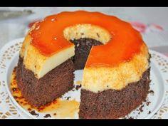 Krem karamelli kek tarifi muhtesem bi lezzet - YouTube
