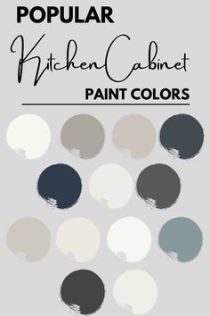 Looking for an amazing Kitchen cabinet paint color? Check out the 13 most popular paint colors for your kitchen cabinets from the painting experts. #painting #kitchen #cabinets #kitchencabinets Cabinet Paint Colors, Kitchen Cabinet Colors, Interior Paint Colors, Painting Kitchen Cabinets, Kitchen Cabinet Inspiration, Kitchen Ideas, Kitchen Design, Most Popular Paint Colors, French Country Kitchens