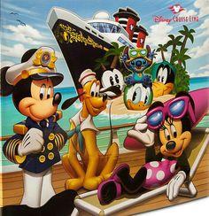 Disney Scrapbook Album - 12 x 12 - Disney Cruise Line Mickey & Friends Mickey Mouse and Friends Scrapbook Album - Disney Cruise Line Disney Halloween Cruise, Disney Fantasy Cruise, Disney Cruise Line, Cruise Scrapbook, Disney Scrapbook, Disney Dream, Disney Fun, Disney Stuff, Walt Disney