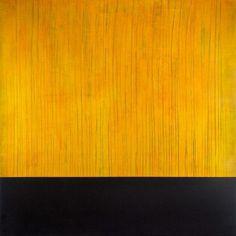 EDGE: Citrine. Mixed-Media Painting by Shane Robinson – Shane Robinson Fine Art