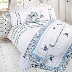 Ben de lisi home designer messy bed bedding set at debenhams buy a vintage ruffle single duvet set in blue from litecraft features ruffles of floral fabric free uk delivery gumiabroncs Images