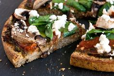 Millet Buckwheat Pizza - millet-buckwheat crust, use allowed seasonings and allowed toppings Candida Diet Recipes, Raw Food Recipes, Cooking Recipes, Healthy Recipes, Flour Recipes, Bread Recipes, Vegan Pizza Crusts, Crust Pizza, Pizza Pizza