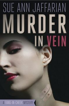 Murder in Vein....Very Me...and Always Need a good Vampire Story...And Its a Cozy too..