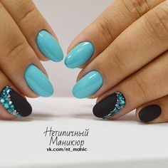 15 Ideas for nails french manicure ideas ring finger Fancy Nails, Trendy Nails, Diy Nails, Manicure Ideas, Manicure Natural, Super Nails, Perfect Nails, Blue Nails, Nail Art Designs