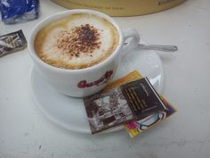 Cappuccino & art