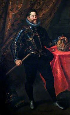 The Emperor, Rudolph II (1552-1612) by Hans von Aachen (1552-1615)