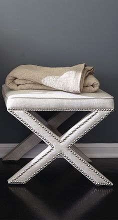 Statement-making and versatile, the Xander Bench captures attention while offering extra seating opposite a sofa, under a console or at the foot of the bed.