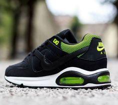 Nike Commande Air Max Noir Vert