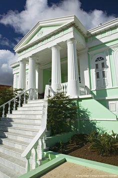 Curacao Maritime Museum, Punda Harborfront, Willemstad, Curacao, Netherlands Antilles, Caribbean