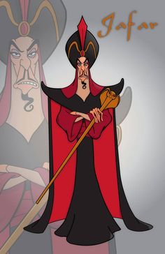 Jafar by momarkey on DeviantArt Arte Disney, Disney Fan Art, Disney Pixar, Aladdin Art, Disney Villains, Disney Characters, All Disney Movies, Evil Disney, Villain Costumes