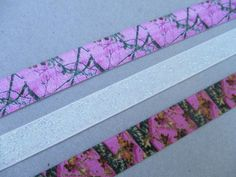 Pink Hunting Camo and Glitter Stretchy Elastic Headbands Mossy Oak Realtree by Ink and Roses 13