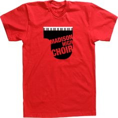 Madison high choirchoir t-shirt designs and custom choir tshirts