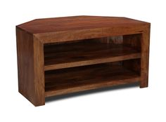 Dakota 2 Shelf Corner TV Unit | Trade Furniture Company™