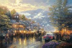 Mountain Memories ~ Thomas Kinkade