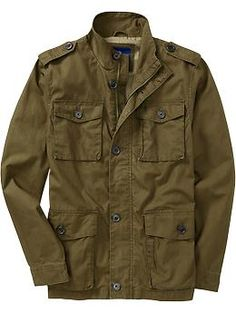 Old Navy: Men's Military Jacket