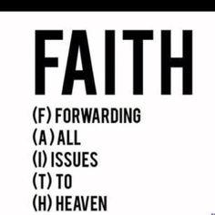 Let Go. Let God