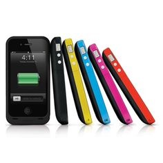 Mophie Juice Pack iPhone Battery Case. I want one!