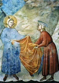 Tutte le dimensioni |Giotto - Il dono del mantello (1290-1295 circa), Assisi, San Francesco, Basilica superiore | Flickr – Condivisione di f...