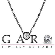 Vintage+Style+14k+Black+Gold+0.50+Carat+Solitaire+by+JewelryByGaro,+$1850.00