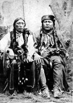 Comanche Jim And His Brother, Post Oak Jim – Comanche – 1895