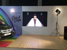 Digital Signage stand Smart María Escoté - Mercedes Fashion Week Madrid 2016 #digitialsignage #Mercedes #SmartMercedes #MaríaEscoté Madrid 2016, Digital Signage, Marketing, Mercedes Benz, Home Decor, Digital Signature, Decoration Home, Room Decor, Home Interior Design