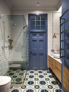 35 Stunning Modern Farmhouse Bathroom Decor Ideas Make You Relax In If you are looking for [keyword], You come to the right place. Below are the 35 Stunning Modern Farmhouse Bathroom Decor Ideas. Art Deco Bathroom, Bathroom Tile Designs, Bathroom Colors, Bathroom Interior, Master Bathroom, Bathroom Ideas, Bathroom Renovations, White Bathroom, Master Baths