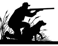 Duck Hunter With Retrieving Dog Silhouette Vector Art Duck Hunting Tattoos, Duck Hunting Dogs, Hunting Decal, Hunting Art, Deer Hunting, Duck Silhouette, Silhouette Vector, Foto Software, Cartoon Eyes