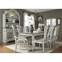 Antique White 5 Piece Dining Set With Upholstered Chairs Pottery Barn  Furniture, Cheap Bedroom Furniture