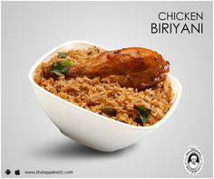 Sunday calls for amazing authentic Biriyani at THALAPPAKATTI RESTAURANT  www.thalappakatti.com | 044-26194300 / 26194200  #ThalappakattiRestaurant #Chicken #OrderOnline #Food #Biryani #Biriyani #Thalappakatti #Restaurant