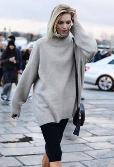 Look! Теплые свитера в образах! 1