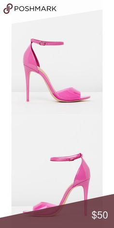 94e9d725791 Aldo Ligoria Hot Pink Sandal Heel These shoes are super great to make a pop  in