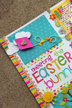 Springtime Collection: Meeting the Easter Bunny by Jodi Wilton on the Doodlebug Design Blog 24th Mar-14 - such a fun kite scene - love the goodies in this collection :)