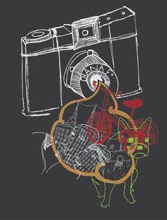 Diana F+ illustration #crowdsourcing