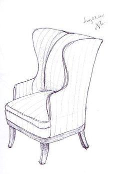 Furniture design on pinterest 728 pins id rendering for Couch zeichnen