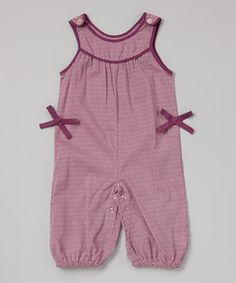 Look at this #zulilyfind! Rim Zim Kids Lavender Zigzag Romper - Infant by Rim Zim Kids #zulilyfinds