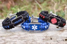 We are excited to launch some incredible additions to our Police, Firefighter, and EMS Survival Straps. They are now available with the symbol for each on the logo dog tag. Show your support for the men and women in uniform by wearing a service line strap. Thank you so much for your support. Starting at $31.95 www.survivalstraps.com