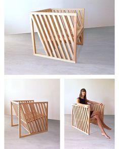 Woodworking Machines How To Build cube chair Machines How To Build cube chair Mdf Furniture, Wooden Pallet Furniture, Bamboo Furniture, Diy Outdoor Furniture, Diy Furniture Projects, Woodworking Furniture, Furniture Design, Wooden Chairs, Woodworking Joints