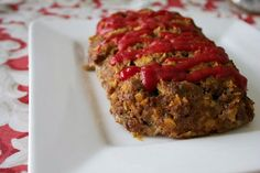Easy Gluten Free Meatloaf from @Susan | Our Family Eats #recipe #glutenfree #dairyfree