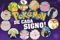 Pokémon de cada signo: montagem com 12 monstrinhos