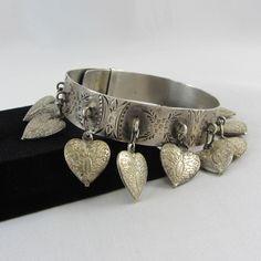 Antique Victorian Love Token Sterling Silver by zestfulvintage