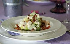 Wedge Salad (Eissalat-Spalten)