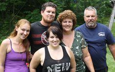 My wonderful family, July 2014