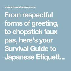 91 best japanese etiquette images on pinterest destinations japan know before you go japanese etiquette customs m4hsunfo