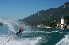 Wassersport am Wolfgangsee