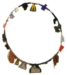 Charles LeDray  Untitled/Hoop, 1994 fabric, thread, floss, metal, beads, buttons, wood, wire  http://www.speronewestwater.com/cgi-bin/iowa/works/record.html?record=2266=1