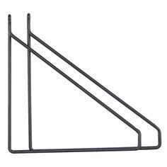 Apart hylleholder 2-pak, svart – House Doctor – Kjøp møbler online på ROOM21.no