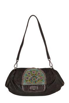 Jewel in the shape of a bag - #Prada Diamond-Embellished bag at #starbags_eu