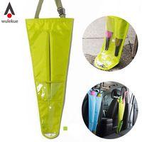 1 PCS Oxford Auto Assento de Carro de Volta Saco De Armazenamento Guarda-chuva Titular Capa Doce Cor Sacos Pendurados Organizador Para paraguas parapluie