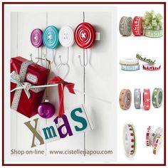 originales cinta fantasa de navidad cinta de floristera cinta rustica cinta para regalos